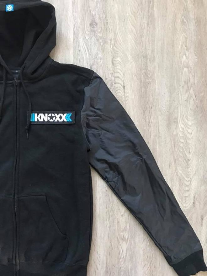 knoxx zipper hoodie Limited